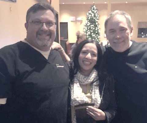 Dr. Carl Baccellieri, Dr. Tomasa A Santana & Dr. Robert Starner at Baccellieri Family Dentistry
